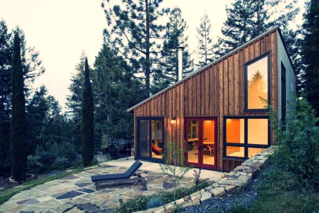pine siding