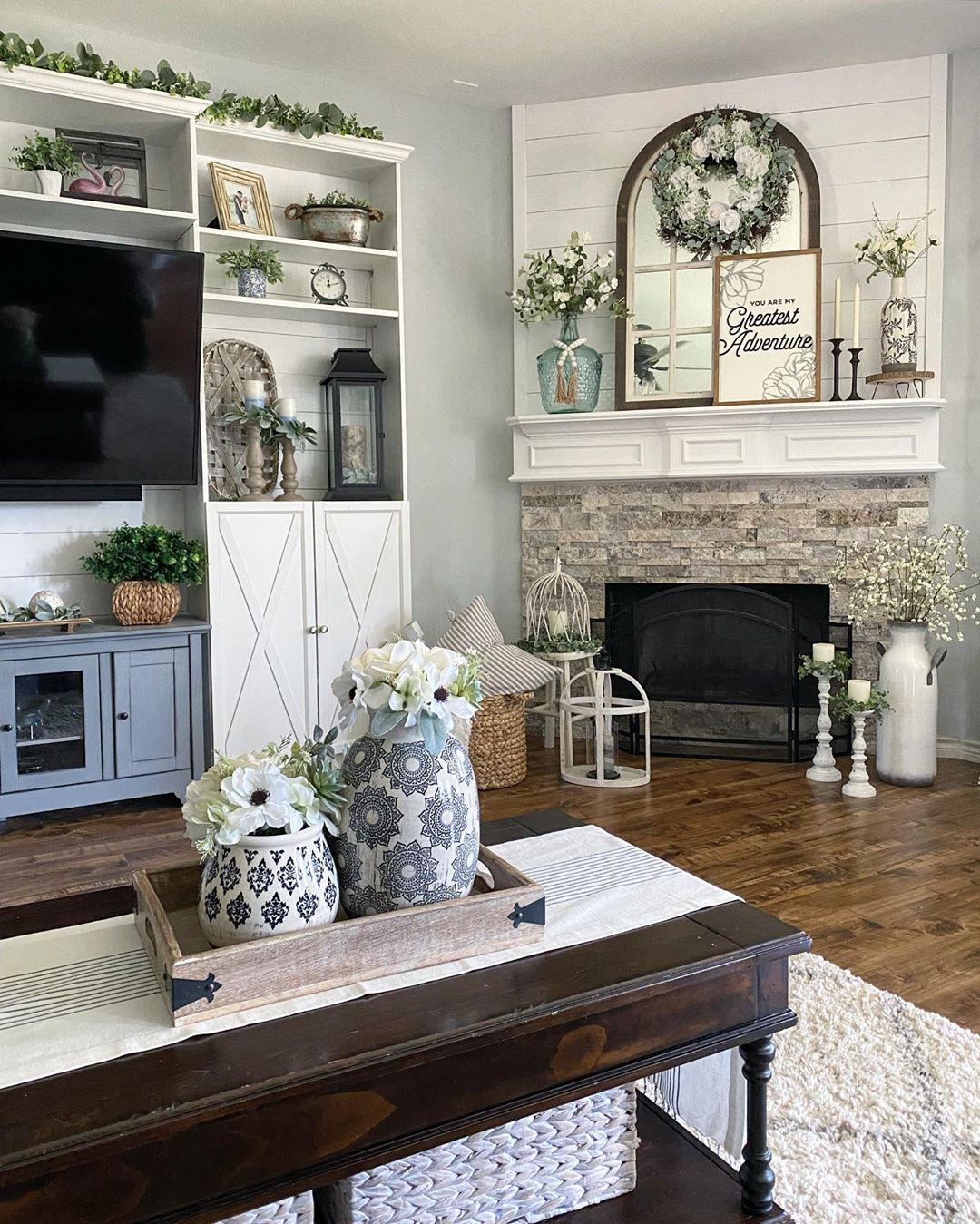 Farmhousehome Decorating Ideas: Farmhouse Living Room Ideas