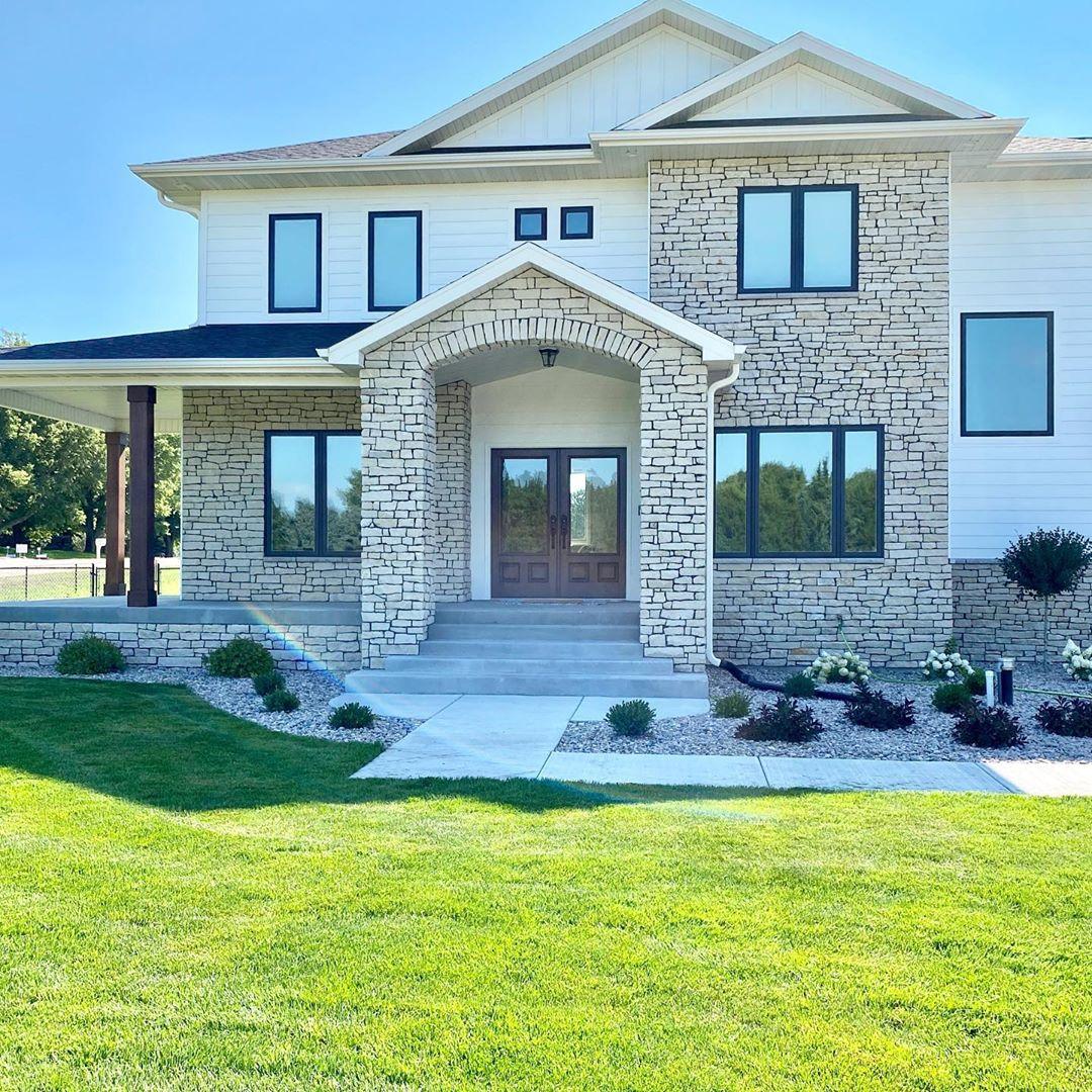 Home Exteriorstone Design Ideas: Farmhouse Exterior Ideas